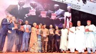 PHOTO: Public presentation of the book 'Africa Rise and Shine', by Jim Ovia