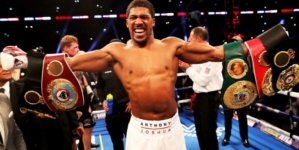 Anthony Joshua knocks out Alexander Povetkin