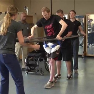 Miracle in America as paralysed people walk again