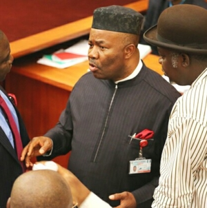 Akpabio hints at leadership change as tension rises in the Senate