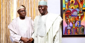 At last Obasanjo endorses Atiku for President