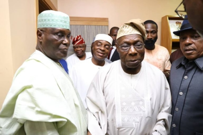 2019: The harder they come, the harder the fall… Presidency responds to Atiku endorsement by OBJ