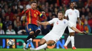 Raheem Sterling shines as England stuns Spain