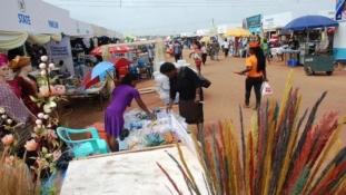 Lagos Trade Fair: Mixed reactions trail ban on music