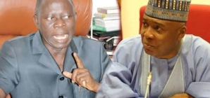 Oshiohole to sue Saraki over bribery allegation