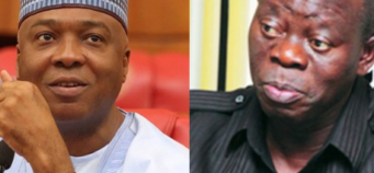 Oshiomhole has lost the moral right to remain in politics- Saraki