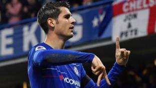 Maurizio Sarri says Alvaro Morata has 'great potential' after win over Palace