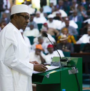 Just IN: Buhari presents N8.83 trillion budget for 2019 to NASS