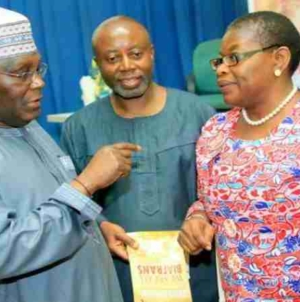 2019: Atiku, Ezekwesili sign peace accord