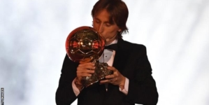 Luca Modric wins Ballon d'Or to end Messi-Ronaldo dominance