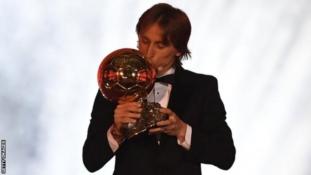 Luca Modric wins Ballon d'Or to end Messi-Ronaldo dominance