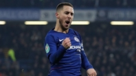 Maurizio Sarri salutes 'wonderful' Eden Hazard after Carabao Cup heroics