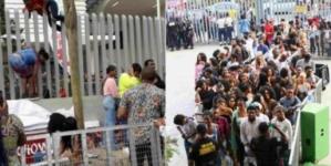 BBNaija auditions: Nigerians condemn obstruction of traffic