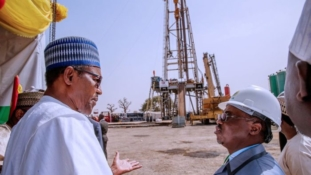 Buhari flags off oil drilling at Barambu in Bauchi