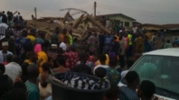 Many injured as another three story building collapses in Ibadan