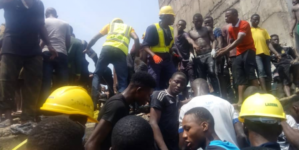 UPDATED: 12 killed, 42 others hospitalised in Lagos collapsed building