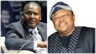 Dangote, Adenuga leads Forbes' list of 13 richest black people on earth