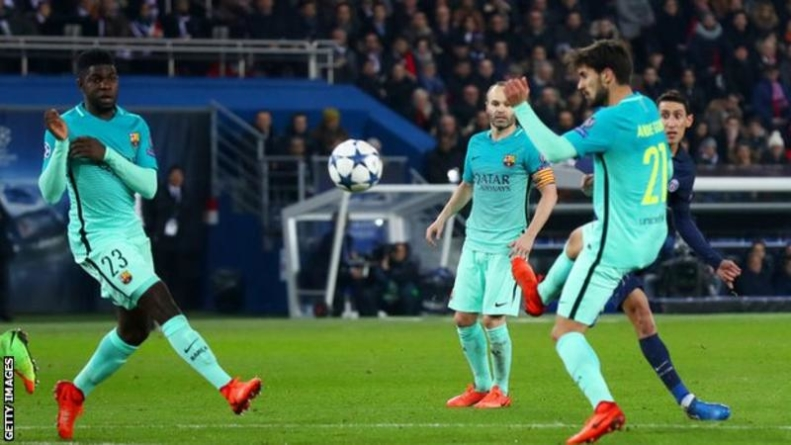 PSG shock Barcelona with 4-0 thrashing