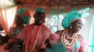 Man marries two wives on the same day in Delta State [PHOTOS]