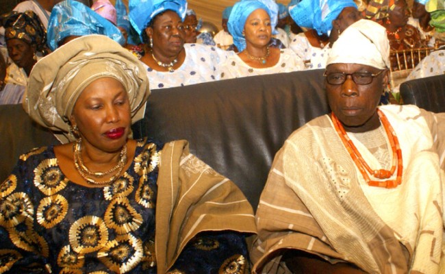 Obasanjo's wife loses bid to stop son's wedding