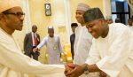 2017 Budget: Buhari meets Saraki, Dogara behind closed doors