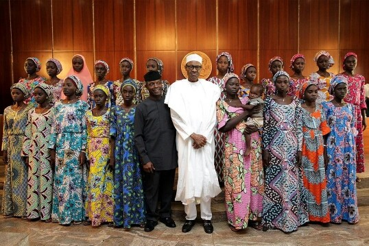 We are working to secure release of remaining Chibok girls – Buhari