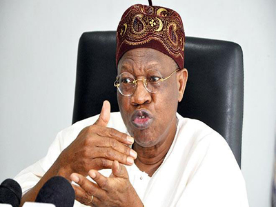 Lai Mohammed unveils $1m venture capital for creative industry