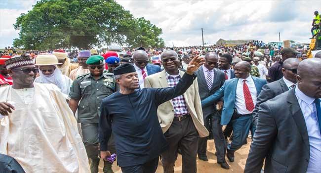 FG to repair the collapsed bridge on Mokwa-Jebba road in two weeks – Osinbajo