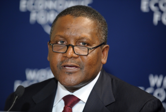 Nigeria must produce 5 of the 12 million Jobs needed in Africa -Dangote