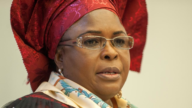 Patience Jonathan's accounts remain frozen- House Leader