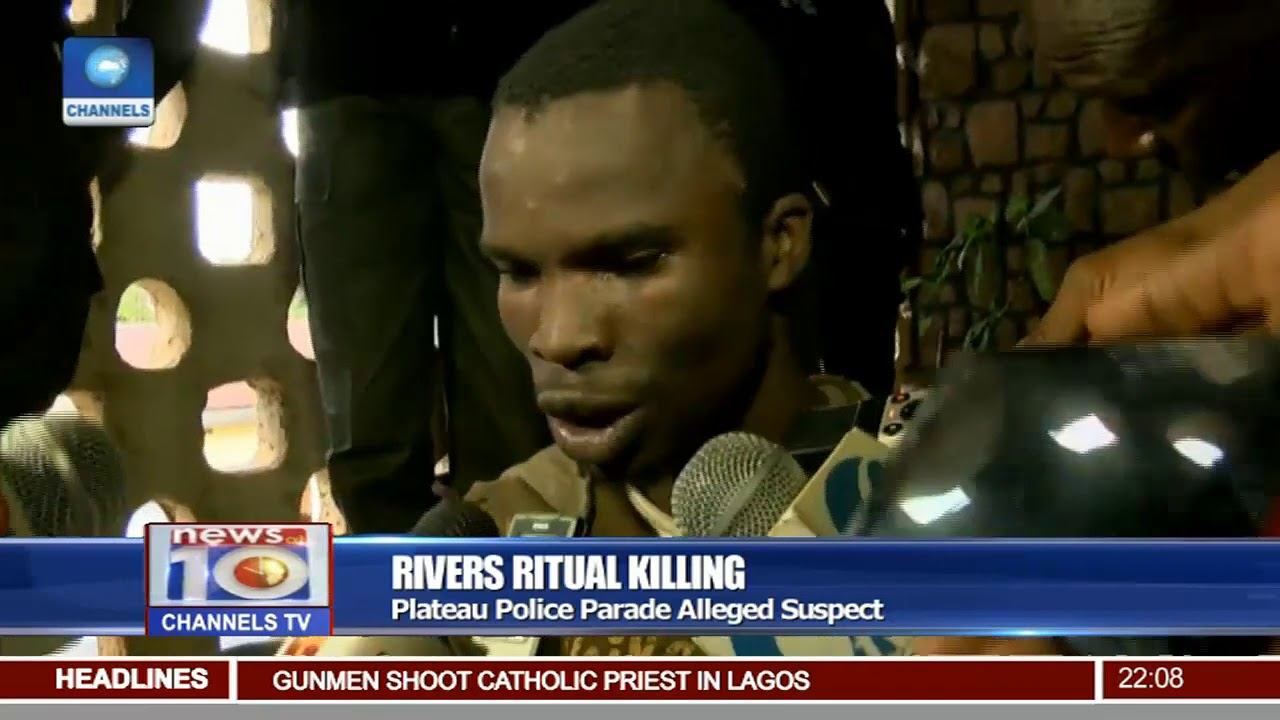 Rivers Ritual killing: How i escaped and was re-arrested in Jos- Suspect