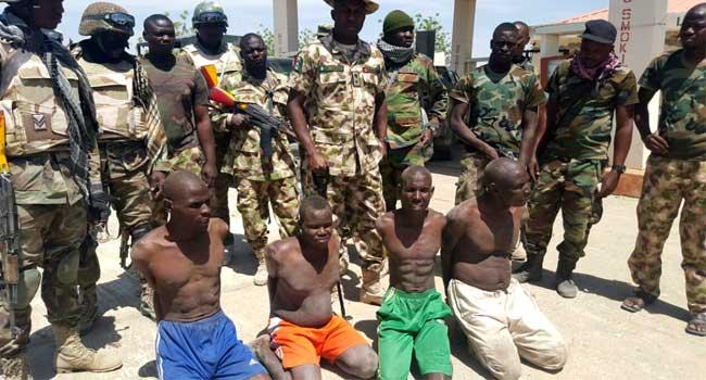 Niger high court jail 45 Boko Haram terrorists