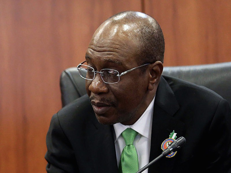 Emefiele to Senate: I cry for Nigeria's economy whenever I'm abroad for official assignment