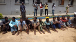 Police parade 38 suspected kidnappers, armed robbers, cattle rustlers