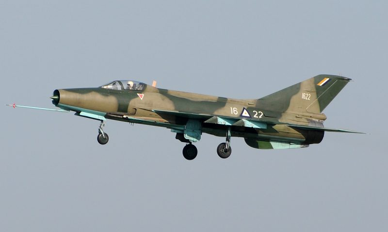 VIDEO: Nigerian Air Force bombs gathering of Boko Haram fighters