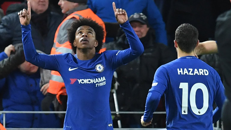 Willian deny Liverpool at Anfield