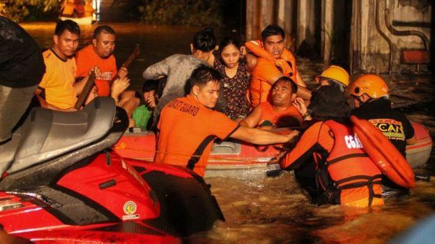 Philippines Tropical Storm Tembin kills more than 180 on Mindanao