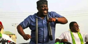 Goverenor Okorocha's sister now Imo state Commissioner for Happiness and Couples' Fulfillment.