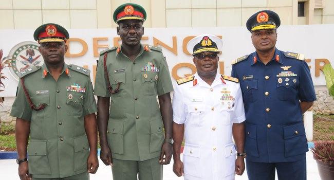 JUST IN: Buhari extends tenure of Nigeria's military chiefs