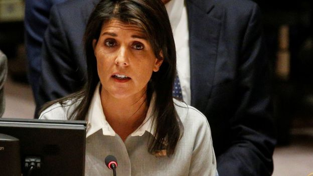 United Nations outrageously hostile to Israel- US