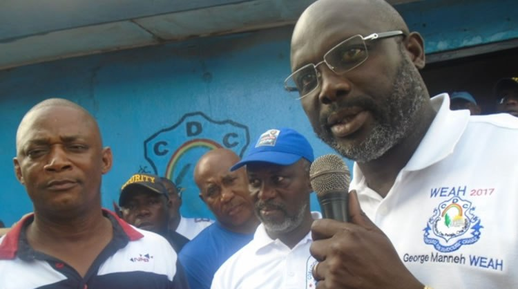 George Weah pledges grassroots social transformation
