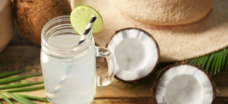 How to control high blood pressure with coconut water