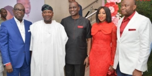 PHOTO: Royal Hibiscus, a movie sponsored by Fidelity bank Premieres
