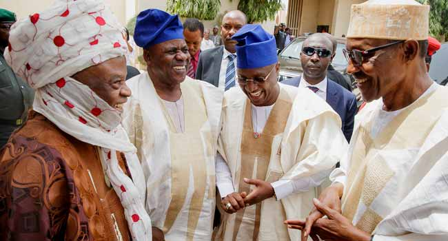 Ignore 'empty barrel' elite and run in 2019, Lamido of Adamawa urges Buhari
