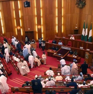 Senate moves to override Buhari on two bills