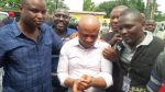 Police hid me in toilet when Falana visited – Evans