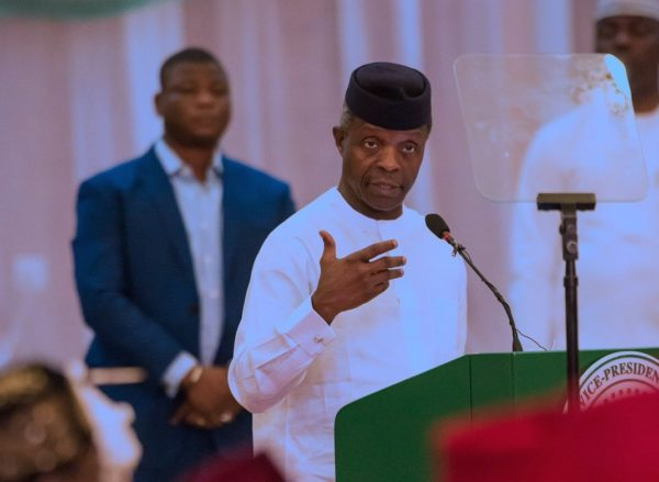Why FG'll open power market to new investors –Osinbajo