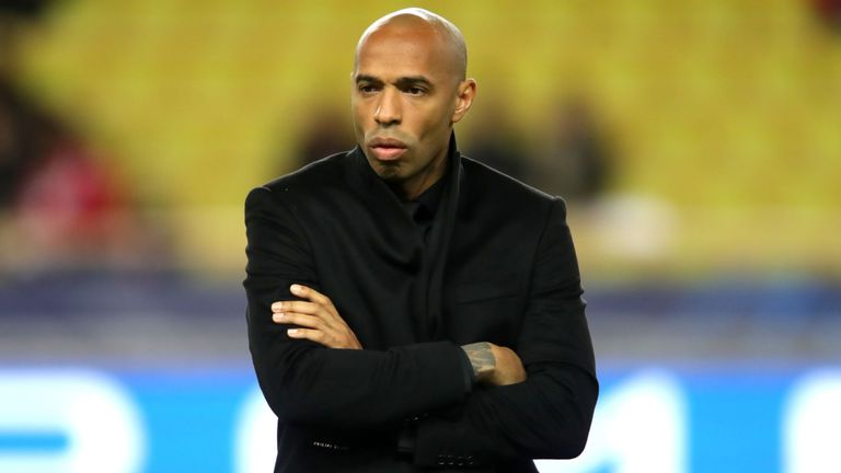 Monaco suspends Thierry Henry