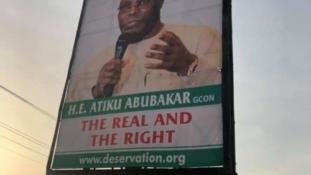 Atiku disowns 'Pukka' billboards, posters in Abuja, Yola