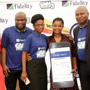 PHOTO: Fidelity Bank's 5th monthly prize presentation ceremony (GAIM SEASON 3)